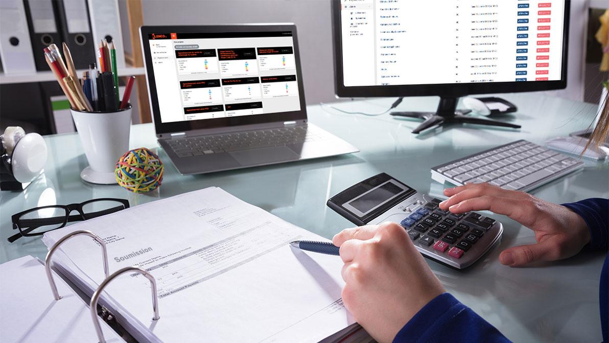 entrepreneur général estimation application